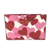 Kate Spade Yours Truly Heart Party Print Card Case
