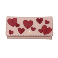 Kate Spade Heart It Harling Leather Clutch Wallet