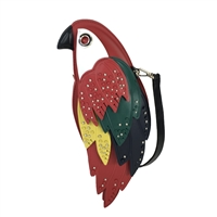 Kate Spade Rio Parrot Leather Crossbody Bag