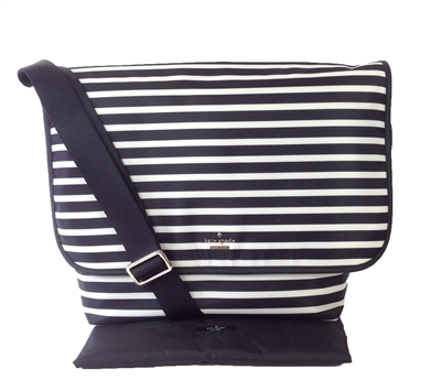 Kate Spade Nylon Striped Kent Baby Bag