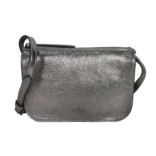 Kate Spade Holiday Lane Val Metallic Leather Crossbody Bag (Multiple Color)
