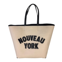 Kate Spade Nouveau New York Large Twill Tote