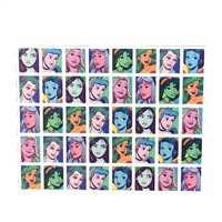 Disney Pop Art Princess Portraits 500 Piece Jigsaw Puzzle