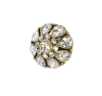 Amrita Singh Mary Louise Crystal Statement Ring