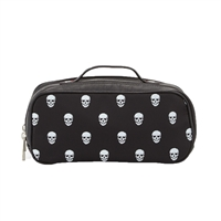 Skull Print Toiletry Travel Bag
