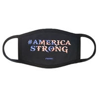 America Strong Stars & Stripes 3 Layer Face Mask