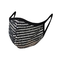 Swanky Sequin Mesh 3D Reusable Face Covering
