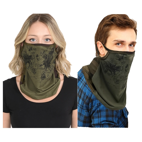 Soaring Eagle Convertible Neck Gaiter Scarf Face Covering