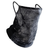 Tie Dye Convertible Neck Gaiter Scarf Face Covering