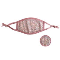 Bella Iridescent Sequins Shimmering 3 Layer Reusable Face Mask
