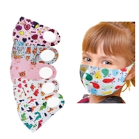 Fun Prints Character Reuseable Techno Fabric Face Covering