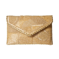 Mary Frances Victory Beaded Evening Bag
