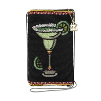 Mary Frances Salty Margarita Beaded iPhone Crossbody