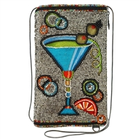 Mary Frances Cocktail Time Beaded iPhone Crossbody