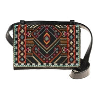 Mary Frances Vortex Beaded Convertible Belt Bag