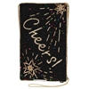 Mary Frances Cheers Toasted Beaded iPhone Crossbody