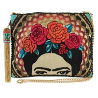 Mary Frances Frida Beaded Convertible Crossbody