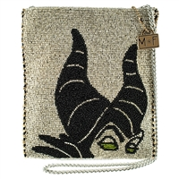 Mary Frances Disney Maleficent Sleeping Beauty Beaded Crossbody