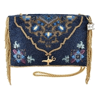 Mary Frances Disney Aladdin Magic Carpet Beaded Crossbody