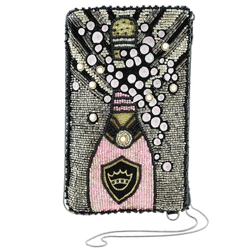 Mary Frances Come to The Party Champagne iPhone Crossbody