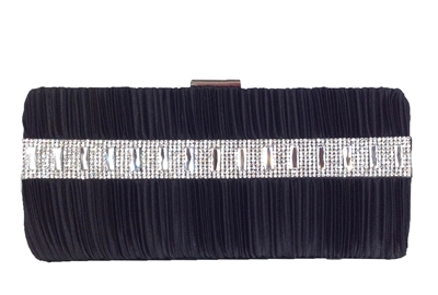Sasha Crystal Embellished Clutch Evening Bag