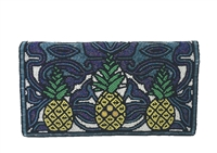 Mary Frances 'Pina Colada' Pineapple Beaded Clutch