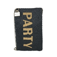 Mary Frances Party Beaded Phone Crossbody