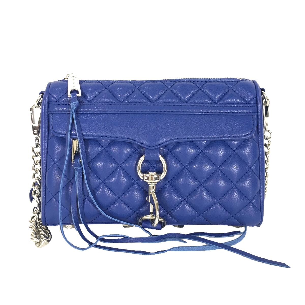 Rebecca Minkoff Mini Mac Quilted Leather Clutch Crossbody