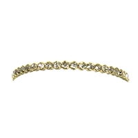 Hedy Floating Crystal Petite Cuff Bracelet