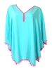 Pom Pom Caftan Kaftan Swim Cover Up
