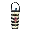 Betsey Johnson Cheers Glitter Shake Wine Tote