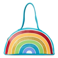 Luv Betsey Johnson Rainbow Wedge Beach Cooler Tote