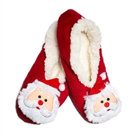 Top It Off Santa Fleece Lined Slipper Socks