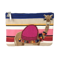 Kate Spade Spice Things Up Embroidered Camel Clutch