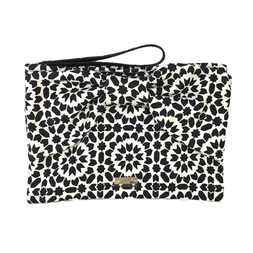 Kate Spade On Purpose Floral Mosaic Bow Wristlet