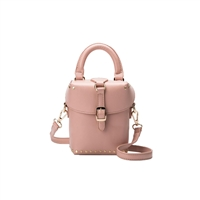 Melie Bianco Ray Vegan Leather Mini Box Crossbody Bag