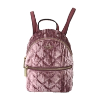Kate Spade Natalie Crushed Velvet Convertible Mini Backpack