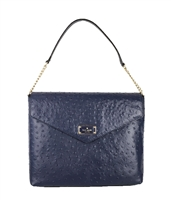 Kate Spade A La Vita Ostrich Leena Shoulder Bag