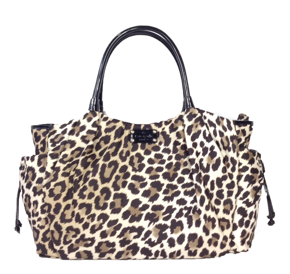 306794a52f5d Kate Spade New York Copa Cabana Stevie Baby Bag, Leopard