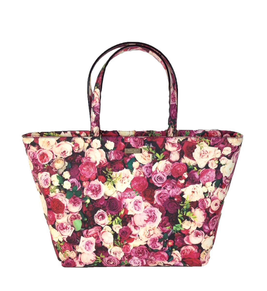 Kate Spade Grant Street Jules Floral Tote Bag Photo Rose
