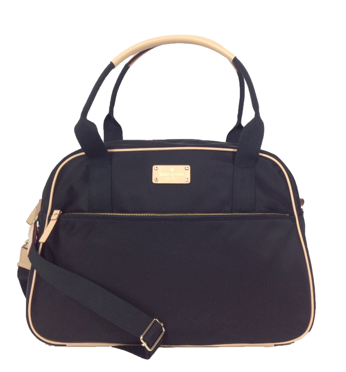 Kate Spade Kennedy Park Nylon Milla Travel Bag Black