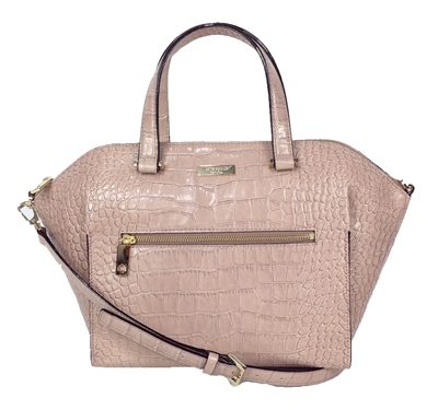 Kate Spade Croco Embossed Savannah Satchel