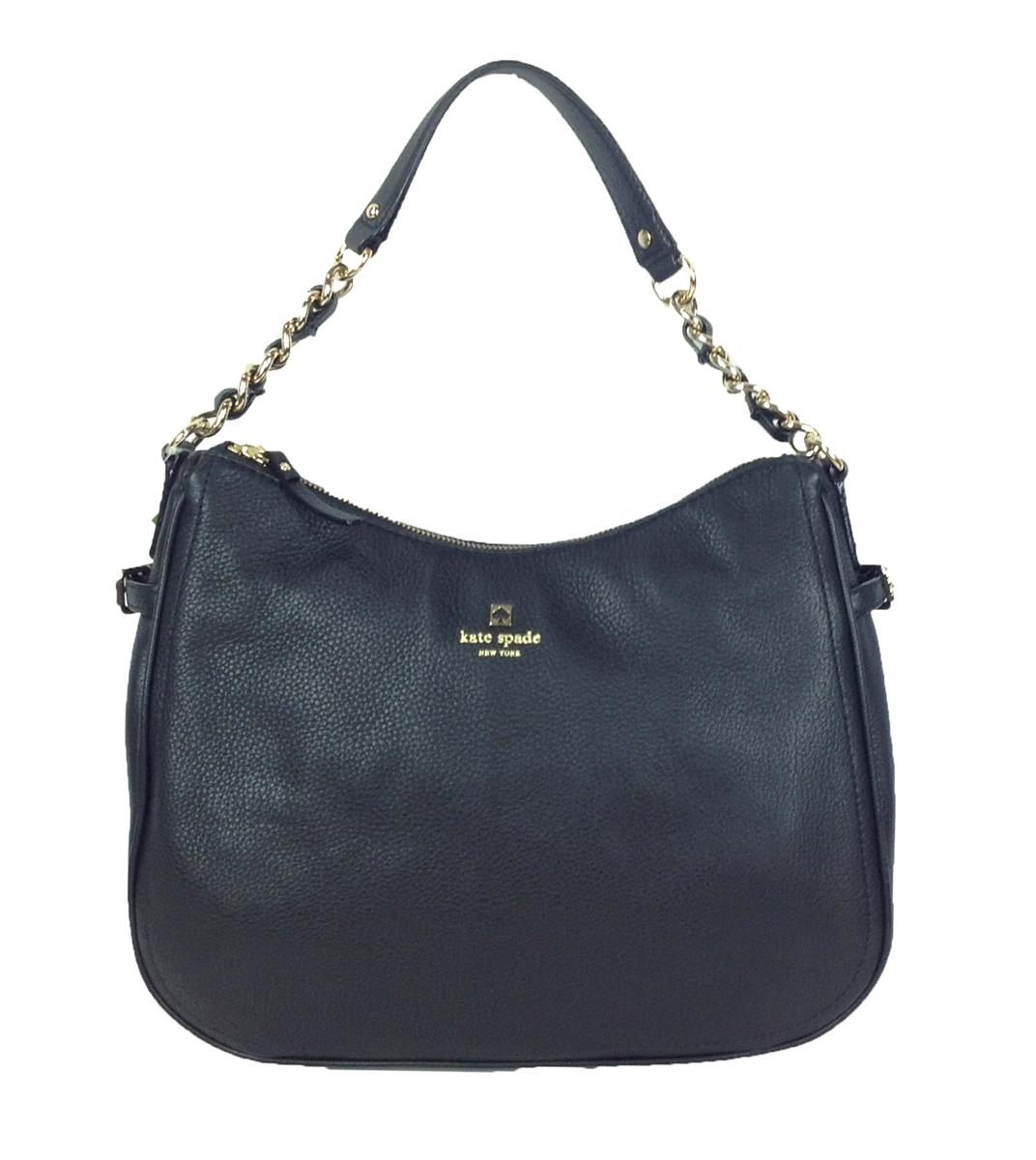 Kate Spade Pine Street Finley Leather Hobo Bag 80de5e3bf1d06