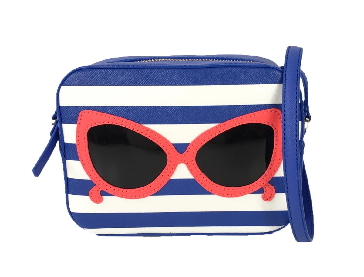 Kate Spade Make A Splash Sunglasses Mindy Crossbody Blue