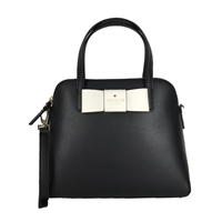 6d61988bee3f Kate Spade Robinson Street Bow Maise Leather Satchel