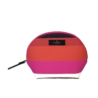 Kate Spade Bonita Stripe Keri Travel Cosmetic Case