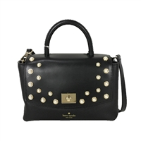 Kate Spade Grommet Maisie Colorblock Leather Satchel Crossbody