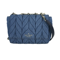 Kate Spade Mini Emelyn Quilted Denim Crossbody Bag