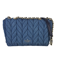 Kate Spade Emelyn Quilted Denim Shoulder Crossbody Bag