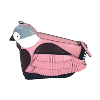 Kate Spade Love Birds Bird Leather Crossbody